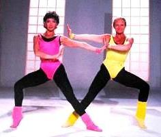 l 39 mission gym tonic avec v ronique et davina eighties. Black Bedroom Furniture Sets. Home Design Ideas