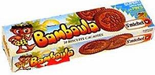 paquet de biscuits Bamboula années 80