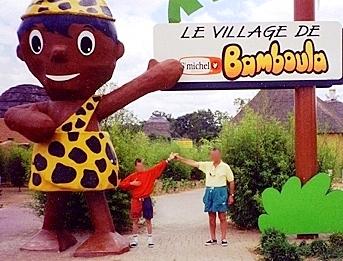 Parc le village de Bamboula polémique biscuits st Michel