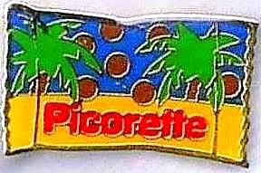 LOGO bonbons picorette de Nestlé années 70 vintage chocolat noix de coco