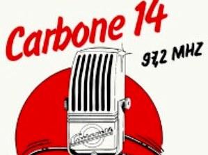 Logo Radio Carbone 14 radio pirate années 80