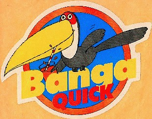 Banga quick boisson en poudre Tang des années 80