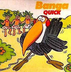 Banga quick sachet de boisson en poudre tang années 80