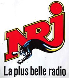 Logo radio libre NRJ années 80