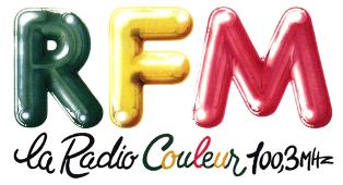 Logo radios libres RFM années 80