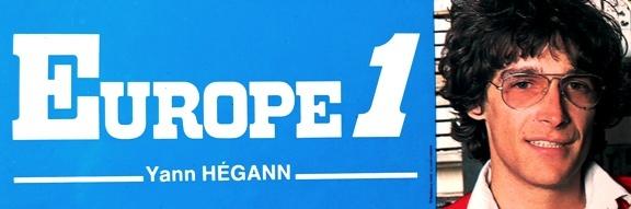 Autocollant Europe 1 Yann Hegann