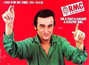 Publicité RMC Dick Rivers