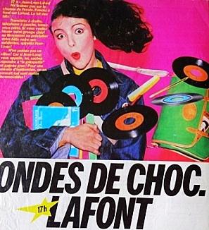 Publicité papier Ondes de choc Jean-Loup Lafont Europe 1