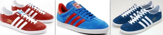 Bannière Adidas Gazelle années 80