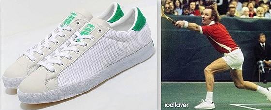 Bannière Adidas Rod Laver Tennis