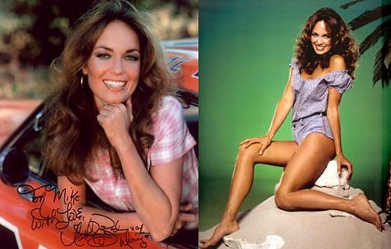 She's pleasant catherine bach wearing pantyhose