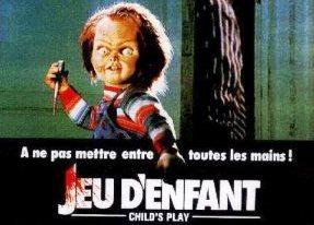 FIlm Chucky Jeu d'enfant années 80