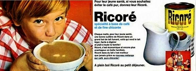 Café chicorée Ricoré publicité des années 70
