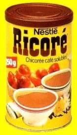 Café chicorée Ricoré boite des années 80