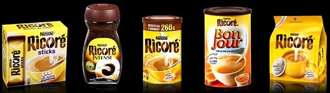 Café chicorée Ricoré BOITES années 90