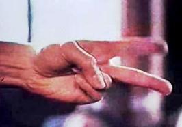 Raider 2 doigts coupe faim années 80