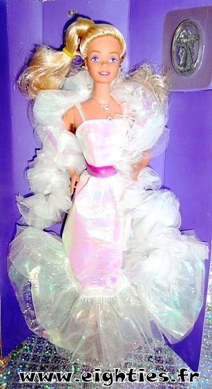 official photos top quality best Barbie Crystal (1984), la Barbie star des années 80 ! - Eighties