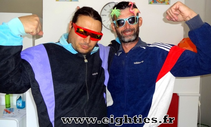 Survetements Adidas Tommy et Taram du site Eighties