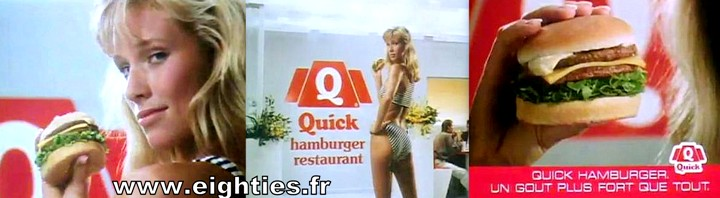 restaurant quick hamburgers années 80 fast-food
