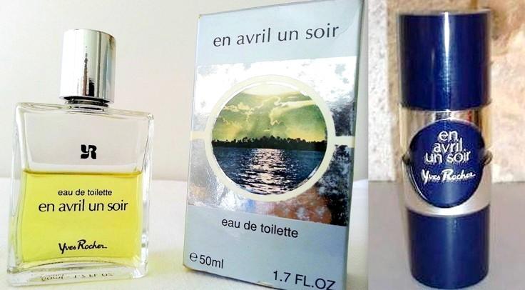 Parfum et eau de toilette EN AVRIL UN SOIR Yves Rocher VINTAGE