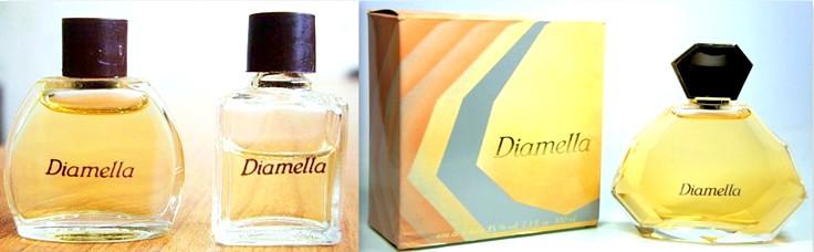 Parfum et eau de toilette Diamella Yves Rocher années 80
