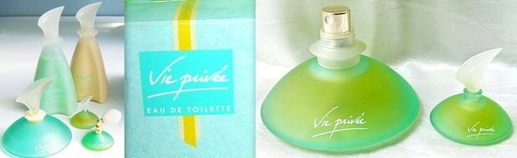 Parfum et eau de toilette Vie Privée Yves Rocher années 80