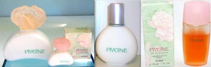 Parfum et eau de toilette Pivoine Yves Rocher années 90