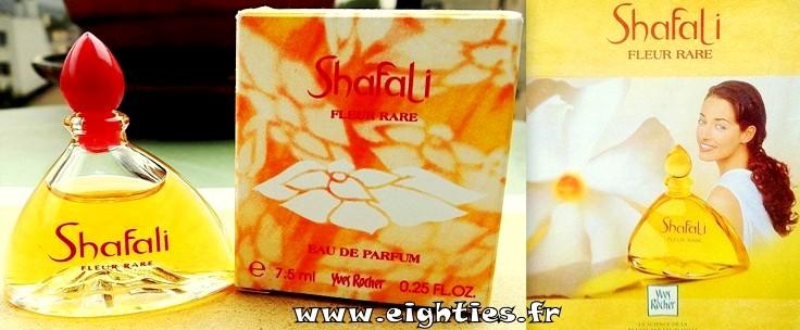ancien parfum shafali Yves Rocher années 90