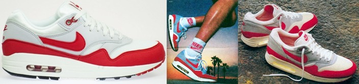 Nike air Max 1987 sneakers années 80
