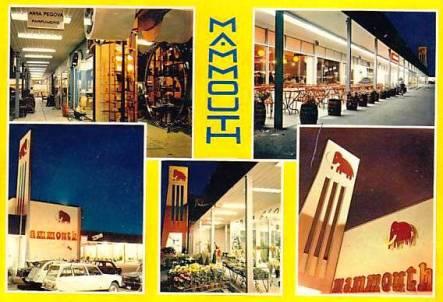 supermarché Mammouth hypermarché des années 80