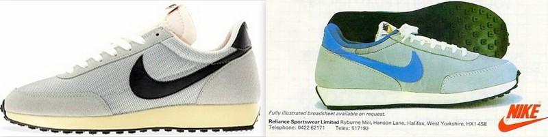 Nike air tailwind années 80