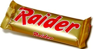 Raider chocolat années 80 ancien Twix