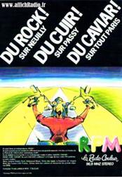 Publicité RFM années 80