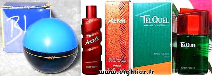 Parfum et eau de toilette Yves Rocher HOMME années 90