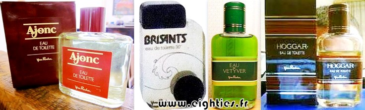 Parfum et eau de toilette Yves Rocher homme années 70