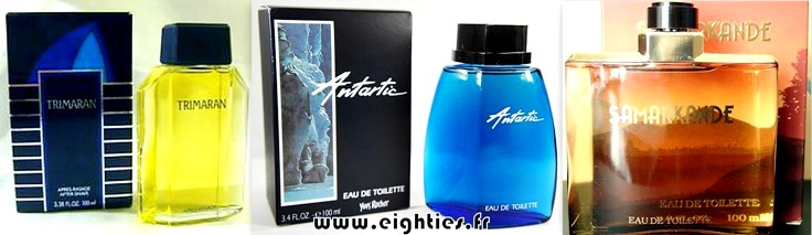 Parfum et eau de toilette Yves Rocher HOMME années 80