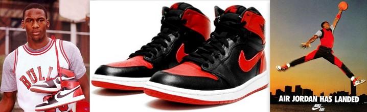 Nike air Jordan années 80