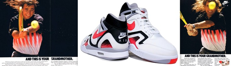 Nike air tech Challenge Andre Agassi