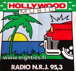 Autocollant NRJ Hollywood