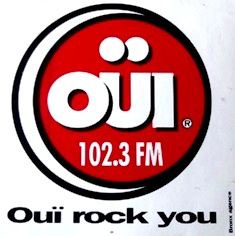Logo OUI FM années 80