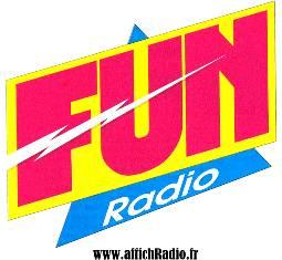 Logo radio libre Fun Radio années 90