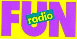 Logo radio libre Fun Radio années 80