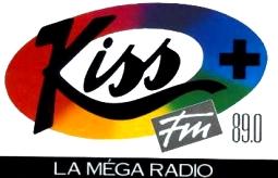 Logo Kiss FM années 80