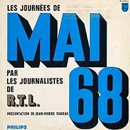 Livre les journées de Mai 68 RTL