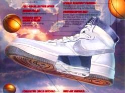 Basket Nike années 80