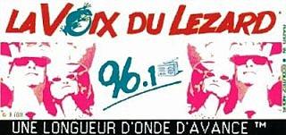 Publicité Radio La voix du Lézard Skyrock années 80