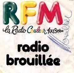 Disque RFM Radio pirate années 80