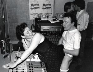 Studio Carbone 14 années 80 radio pirate Lafesse Supernana