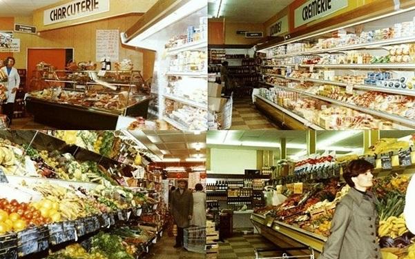 supermarché des années 80
