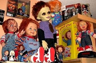 Produits dérivés Chucky poupées figurines jouets